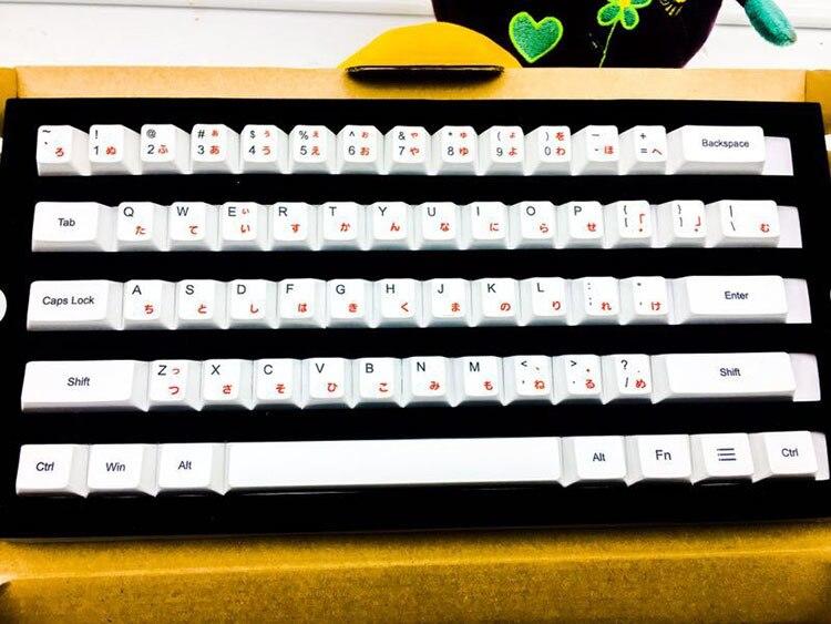 108 clés/ensemble PBT chapeaux de clé de Sublimation de colorant Original usine hauteur clavier mécanique porte clés japonais coréen russe casquettes-in Claviers from Ordinateur et bureautique on AliExpress - 11.11_Double 11_Singles' Day 1