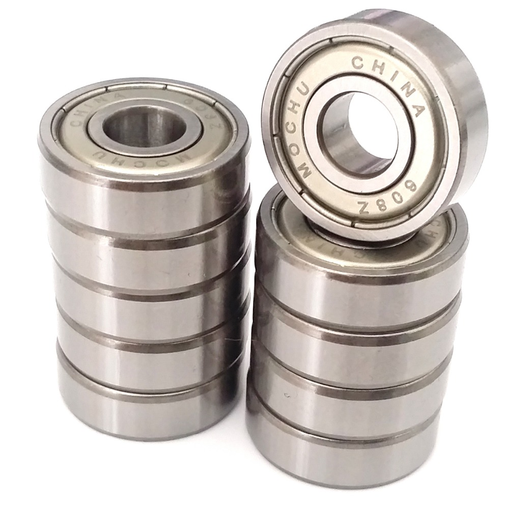 10pcs MOCHU 608 608Z 608ZZ 8x22x7 ABEC-5 Double Shielded High speed bearings applications for micro motors, fans image