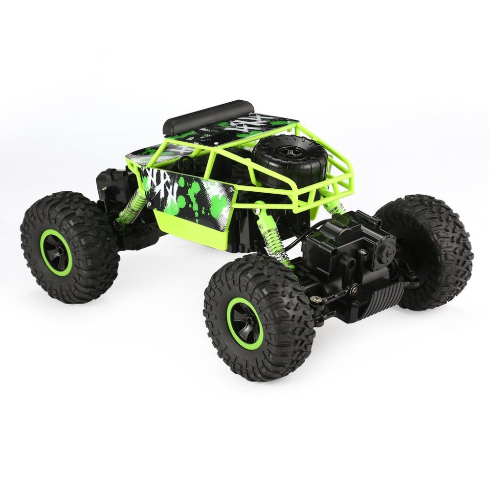 YY300 2.4GHz 1/18 Scale 20km/h Double Motors 4WD Bigfoot Rock Crawler Climbing RC Car Off-Road Vehicle Toys for children Adult