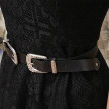 Double Buckle Women's Belt
