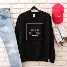 Skuggnas Billie Eilish Sweatshirt Crew Neck Fashion Jumper Long Sleeve Tumblr Casual Tops Hipster Sweatshirt High quality Tops