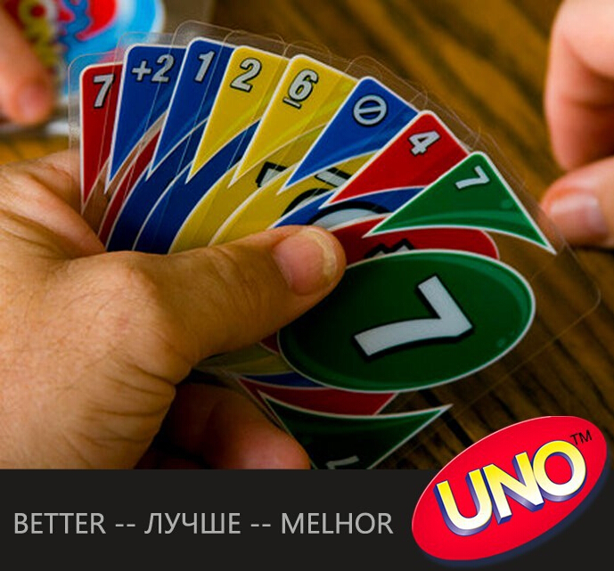 Uno Plastic Transparent Waterproof Playing Cards Uno H2o Water