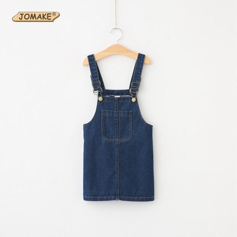 New Arrival 2017 Spring Baby Girls Dress Denim Sundress Suspender Denim Strap Dress Girl Cute Kids Dresses Toddler Girl Clothing