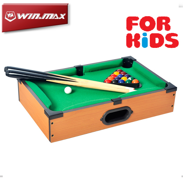WIN.MAX Mini Pool Table,portable pool table,American Child Snooker Table Toys for Child