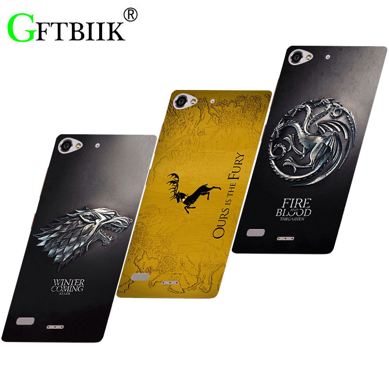 Cute Cartoon Case For Lenovo Vibe X2 Lenovo X2 Hard Plastic Pattern Shell Bag Fashion Printed Cover Game of Thrones 7