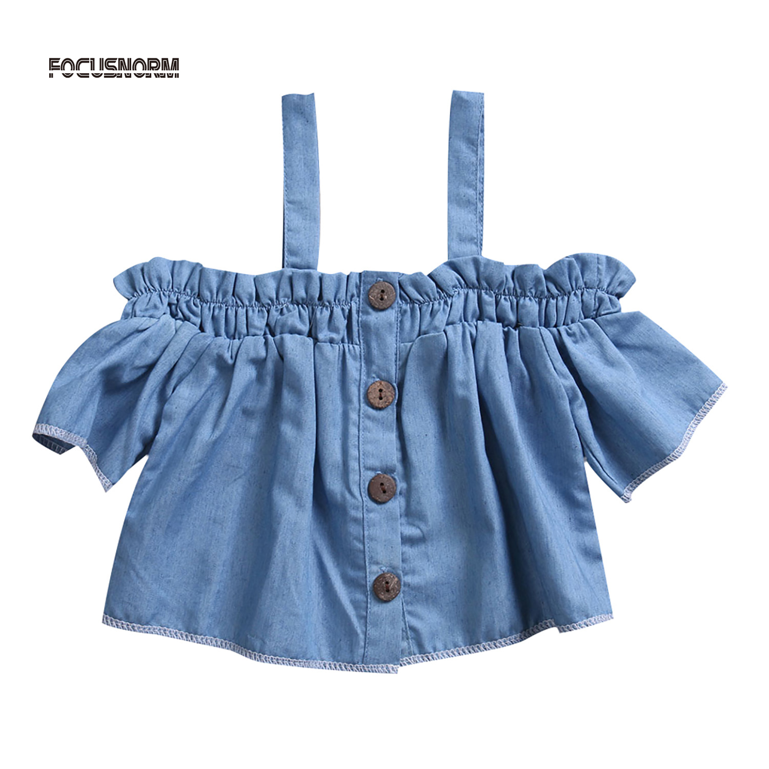 Aliexpress Buy Little Kids Baby Girls Casual Denim Dress