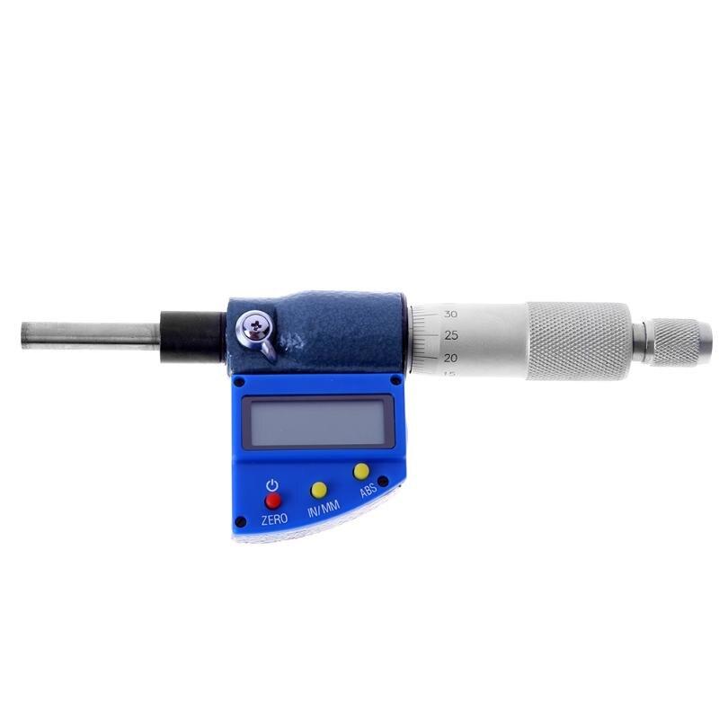 25MM/0.001MM Digital Micrometer Electronic Outside Digital Gauge Micrometer Metalworking Measuring Tool with LCD Display