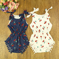 for Australia Newborn Baby Rompers Baby girls Clothes 2016 Summer Pineapple printing Baby Clothes Infant Girls Ropmpers