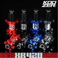 Koozer XR420 Ultra Light 4 Sealed Bearing 24 Holes Straight Pull MTB Mountain Bike Hubs 6 Ratchets Disc Brake Bike Hub