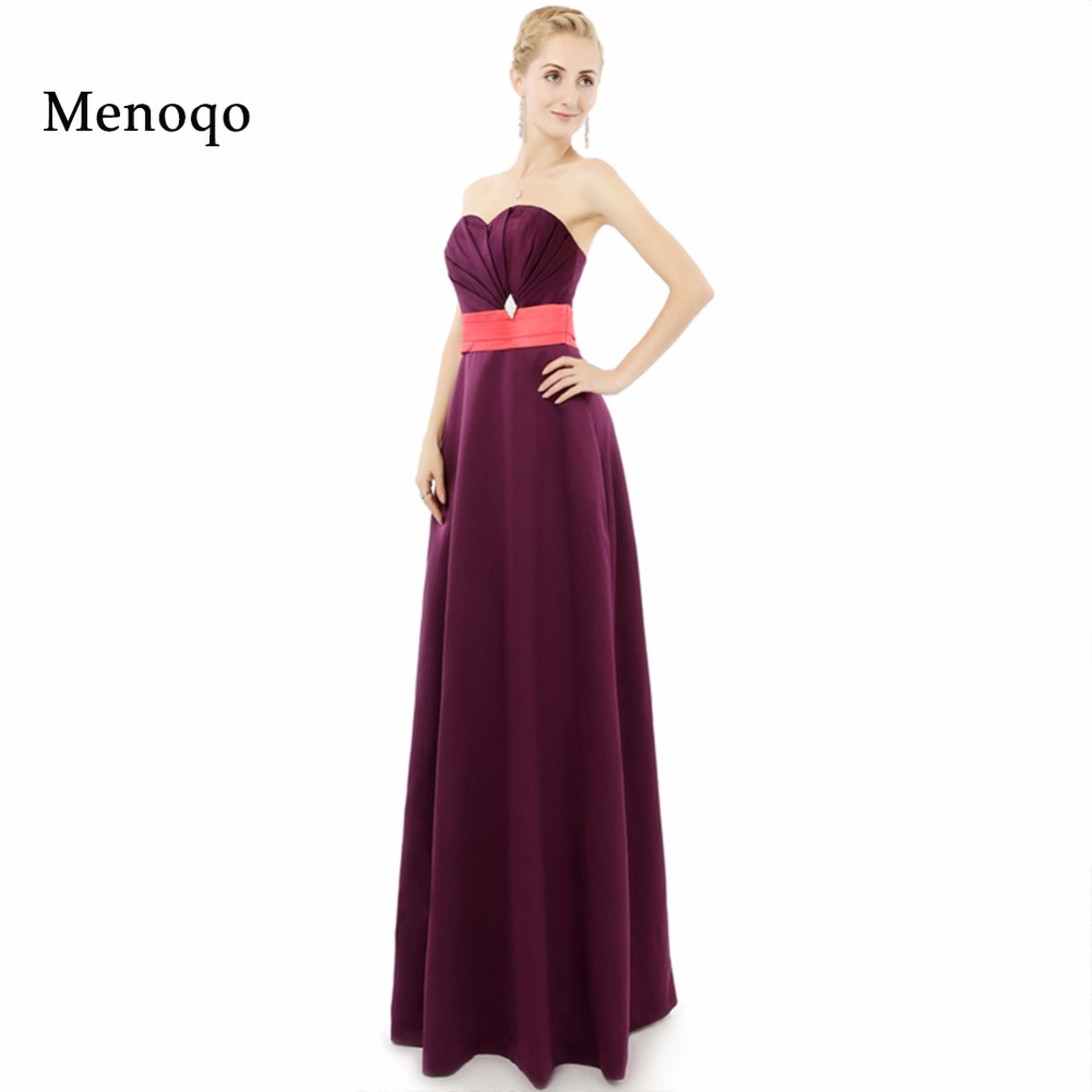 2019 Real Sample   Bridesmaid     dresses   Plus size Floor length long A line Sweetheart High quality Custom made Wedding Party   dress