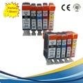 10pk pgi525 pgi-525 cli-526 pgi 525 xl cartuchos de tinta para canon pixma mg6150 mg6250 mg8150 mg5350 pgi-525xl mx895 impressora jato de tinta