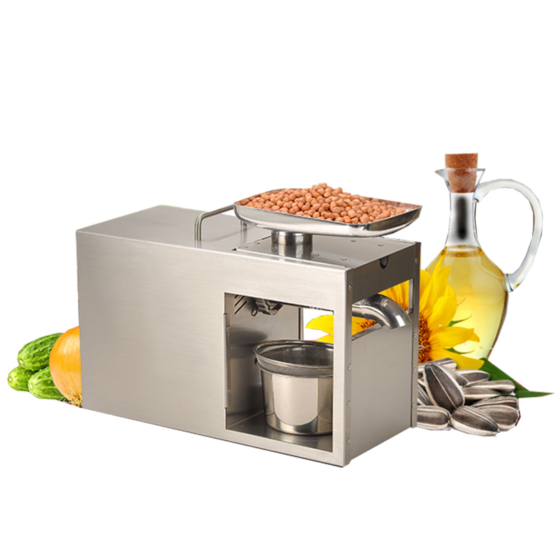 BEIJAMEI 220V Heat and Cold home oil press machine peanut sunflower seed flaxseed oil press machine high oil extraction rate brand new 220v heat and cold home oil press machine peanut cocoa soy bean oil press machine high oil extraction rate page 3