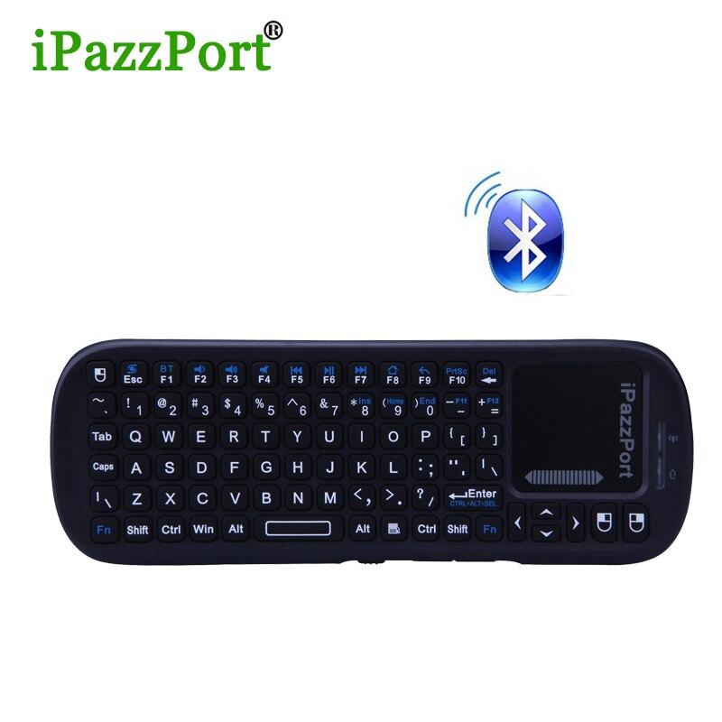 Original Mini Wireless <font><b>bluetooth</b></font> keyboard with Touchpad <font><b>Air</b></font> <font><b>Mouse</b></font> Combo Teclado for HDPC Win7 Pad Xbox360 PS3 Andriod TV Box