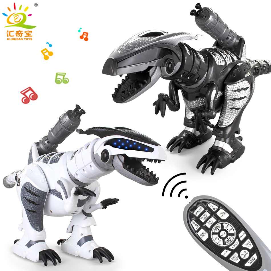 New Intelligent Remote Control Dinosaur Dancing Robot With Music Educational Electronic Pets RC Toys Gifts For Kids