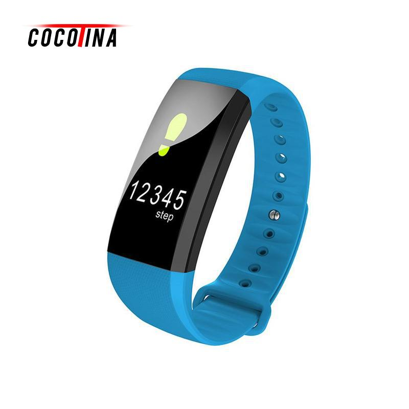 COCOTINA Waterproof Touch Screen Bluetooth Smart Watch Blood Pressure Heart Rate Monitor Smart Watch For Android iOS ZNB0497 jaysdarel heart rate blood pressure monitor smart watch no 1 gs8 sim card sms call bluetooth smart wristwatch for android ios