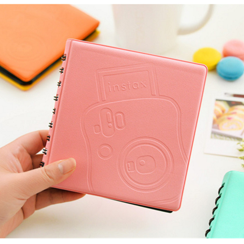 68Pockets Mini Instant Polaroid Photo Case Case for Fujifilm Instax Mini Film 7s 8 25 50s 90 instax mini album Polaroid