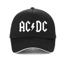 New ACDC band baseball cap rock hip hop caps adjustable Men Women acdc snapback hat print Letter DJ dad hats