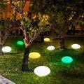 Pflastersteine Form LED Nacht Licht Outdoor Indoor Nacht Party Multi farbe Dekoration Beleuchtung Garten Rasen Stein Lampe-in Neuheit Beleuchtung aus Licht & Beleuchtung bei
