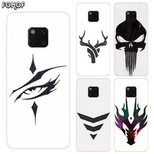 TPU Silicone Phone Back Cases For Huawei Mate 20X 20 10 9 Pro 8 7 Shell Hull Heart Bumper Cover Sketches