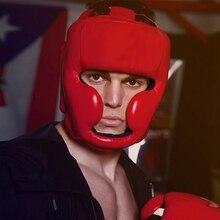 Защитная Экипировка для профессиональной тренировки бокса Санда Защитный Экипировка шлем закрытый шлем Муай Тай бои