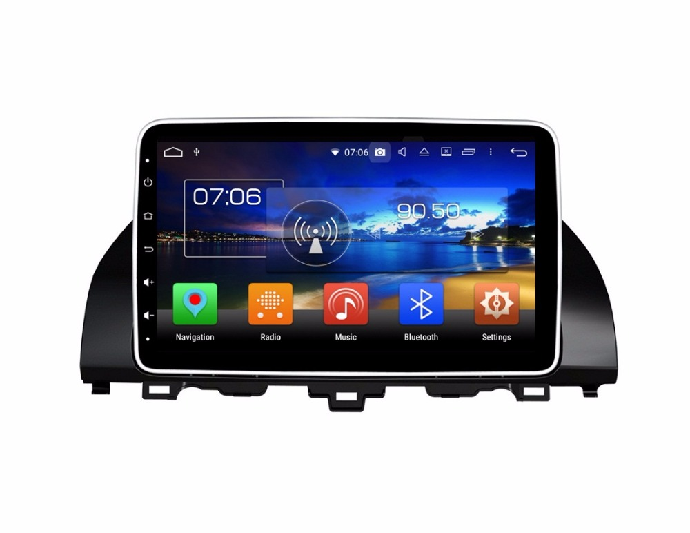 "4GB+64GB 8 Core 10.1"" Android 8.0 Car DVD Player for Honda Accord 2018 GPS Audio Stereo Radio Bluetooth WIFI Mirror-link USB DVR"