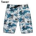 Men's Shorts 2017 New Fashion Men Casual Fashion Print Loose Comfortable Beach Shorts Big Size Male Summer Shorts MKD964