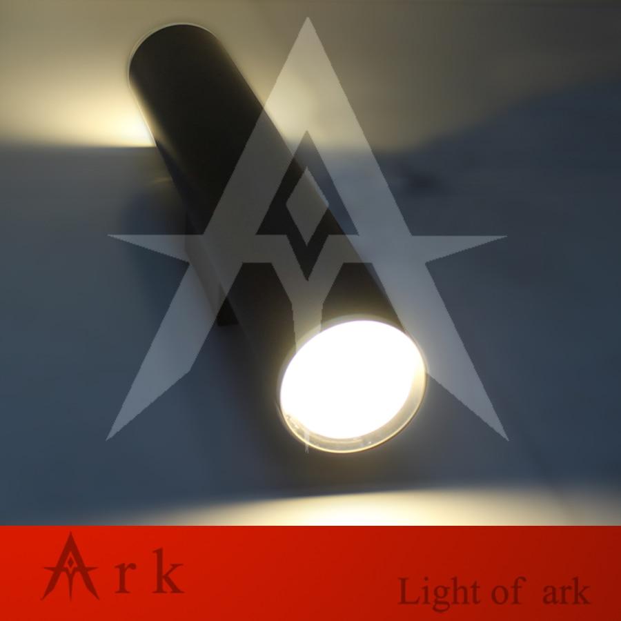 Ark light Dia 8cm height 50cm Aluminum cannular LED WALL Lamp Cylinder Shape LED light Custom project light indoor decoration new color 17 open hole purple flute e key case