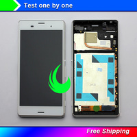 5.2 Original For SONY Xperia Z3 LCD Display Touch Screen with Frame For Sony Z3 sinle / Dual Display LCD Z3 D6633 D6603 Display