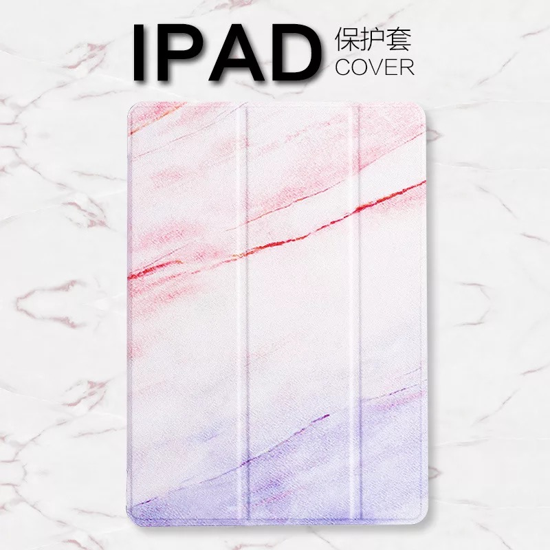 Marble Style Tablet Cover Ultra Slim Case for New iPad 9.7 iPad 2 3 4 Magnetic Flip Stand Cover For iPad Air Air2 Mini 1 2 3 4 5
