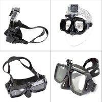 Hot Sale For ZJM Camera Mount Diving Mask Scuba Snorkel Swimming Goggles F GoPro HD Hero