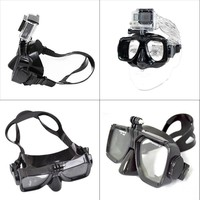 Hot Sale For ZJM Camera Mount Diving Mask Scuba Snorkel Swimming Goggles F GoPro HD Hero