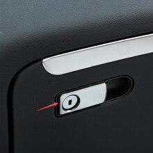 1 pezzo Car Styling Glove Box di Stoccaggio Maniglia Sticker Interior Trim Copertura Per Mercedes Benz Classe E W213 Classe C w205 GLC X253