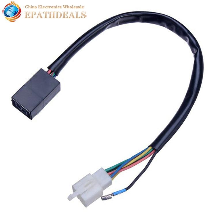 Motorcycle Red LED Digital Gear Indicator 0-5 Level Neutral Display Waterproof