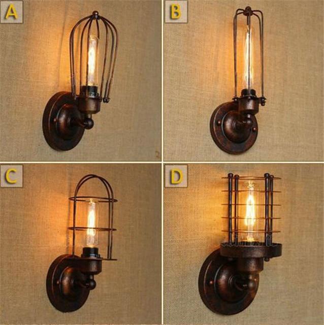 Genial Vintage Led Wall Lamp American Loft Industrial Wall Light Bathroom Wall  Sconce Lamps Dining Room Restaurant