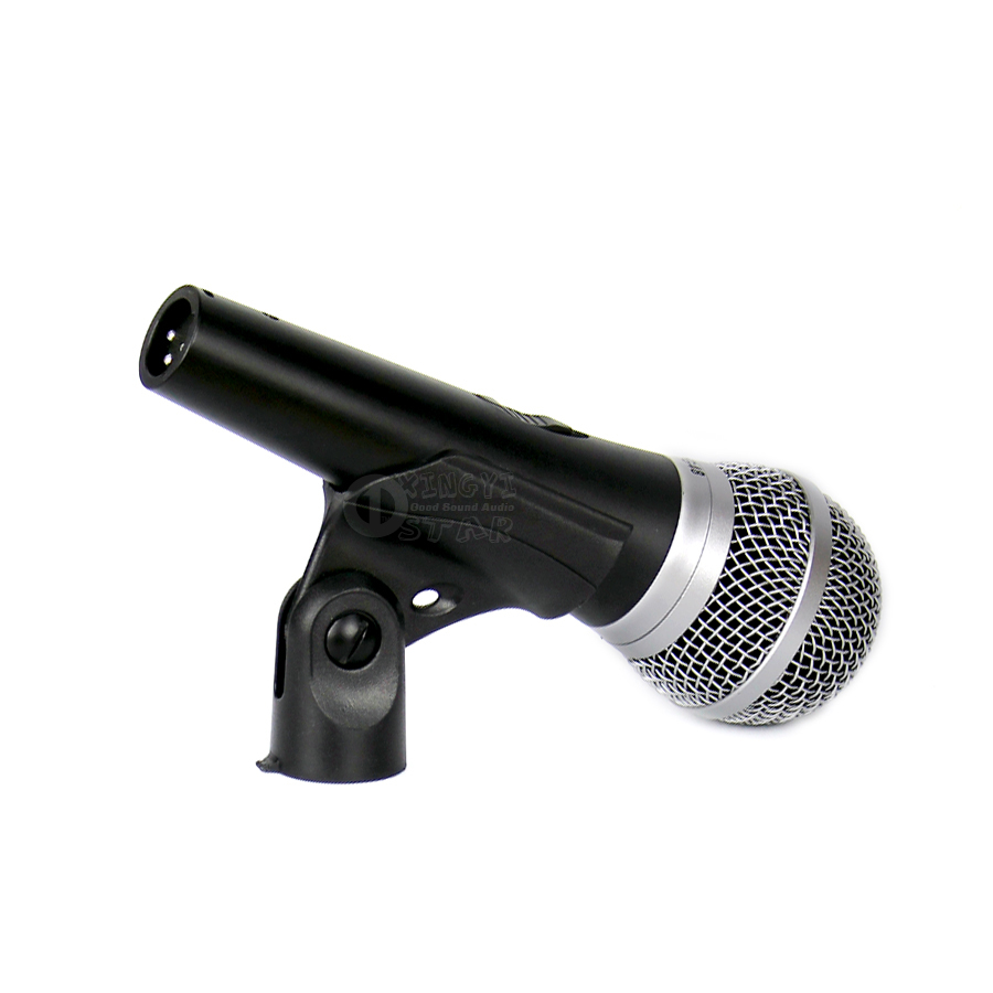 Professional Switch PG48 Handheld Mic Wired Dynamic Microphone For Karaoke Audio Mixer DJ Stage Church PG 48 PA Power Amplifier in Microphones from Consumer Electronics