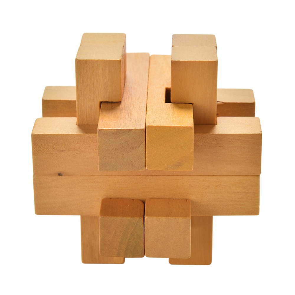 Classic Toy Wooden Puzzle Cube/Educational Toy Puzzle Brain