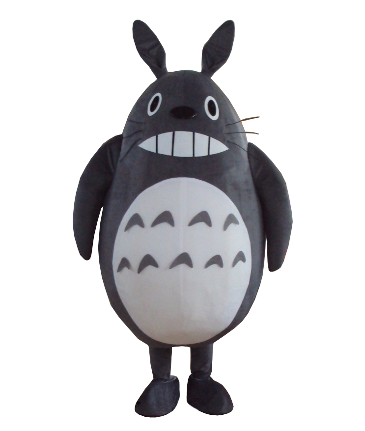 High quality Cat My Neighbor Totoro Mascot Costume Fancy Dress Outfit Suit Free Shipping