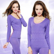 Special Offer Thermal Underwear Women 2018 Winter Sexy Women Thermo Underwear Seamless Antibacterial Warm Long Johns Sets