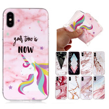 Marble Stone Soft TPU Case For Samsung Galaxy Note 8 9 Xiaomi Redmi 4X 5A Note 5 Plus 6 Pro F1 A2 Lite Phone Cases(China)