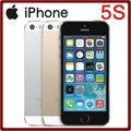 Fábrica desbloqueado original da apple iphone 5s dual core 8mp 16 gb/64 gb rom 1 GB de RAM IOS 7 4G LTE 4.0 Polegada Livre Do Telefone Móvel grátis