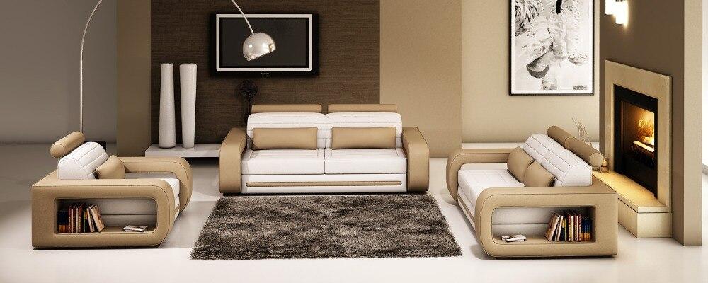 US $998.0 |Divani per soggiorno con Grande divano ad angolo moderno divano  scenografie divano del soggiorno-in Divani da soggiorno da Mobili su ...