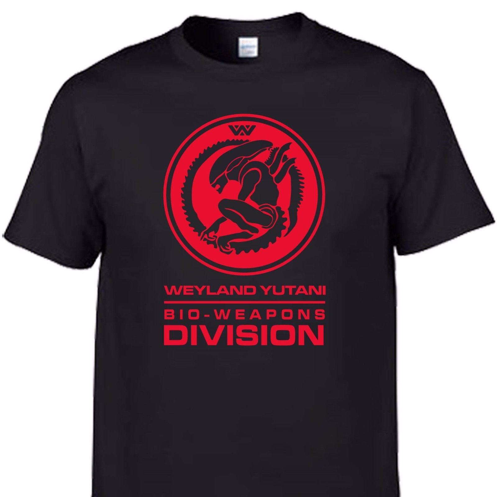 alien movie sci fi cult weyland yutani nostromo prometheus covenant   t     shirt   teeMen'S   T  -  Shirts   Summer Style Fashion Swag Men