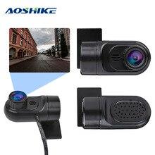 AOSHIKE Dash камера Мини Автомобильный видеорегистратор USB камера для Android HD 140 градусов вождения рекордер 64G ночного видения g-сенсор автомобильный DVD