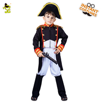 Boys Napoleon Costumes Martial Arts General Costumes For Kids Fancy Party Decorations Supplies Uniforms