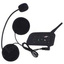¡ VENTA CALIENTE! 1200 M Casco de La Motocicleta Intercom Headset Bluetooth BT3.0 para 6 Riders para Iphone6 ENVÍO LIBRE!