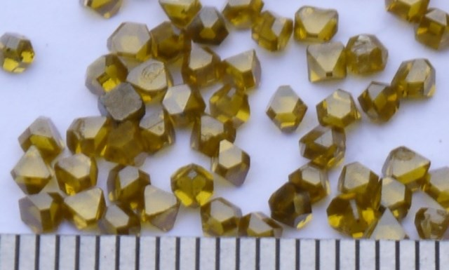 Russian imports of high-quality large artificial diamond particles 2.2mm average weight of 0.109 ktRussian imports of high-quality large artificial diamond particles 2.2mm average weight of 0.109 kt