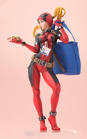 Marvel Bishoujo Statue Lady Deadpool PVC Action Figure Collectible Model Toy 24cm
