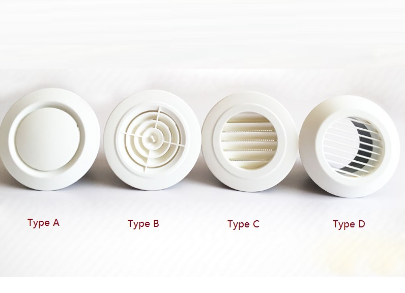 6 Quot 150mm Round Plastic Abs Ceiling Diffuser Grille Air