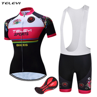 2017 Summer Short Sleeve Pro Woman Cycling Jersey Ropa Ciclismo Mujer Cycling Clothes China Bike Roupa