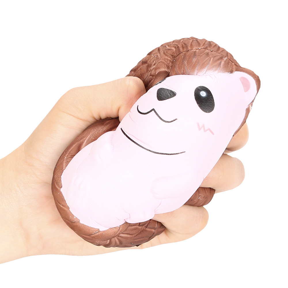 High Quality Squishy Cute Hedgehog Scented Charm Slow Rising Squeeze Stress Reliever Toy 2018 NEW Arrival Kid Toys kawai Gift